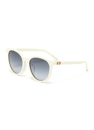 Main View - Click To Enlarge - DIOR - 30Montaigne Mini Rounded Frame Sunglasses
