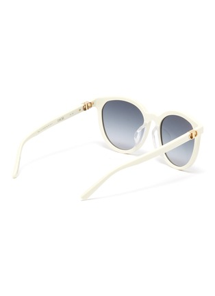 Figure View - Click To Enlarge - DIOR - 30Montaigne Mini Rounded Frame Sunglasses