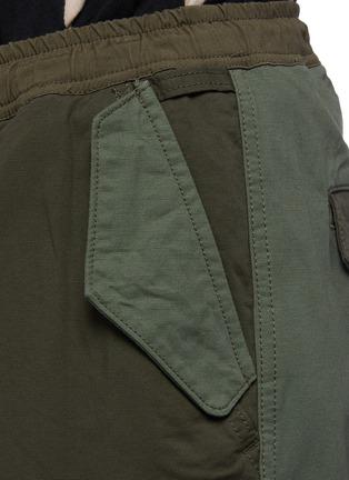 - FDMTL - Panelled Cotton Blend Drawstring Cargo Pants