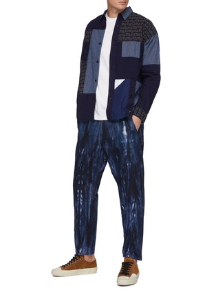 Figure View - Click To Enlarge - FDMTL - Tie Dye Cotton Tappered Pants