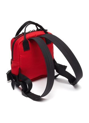 Detail View - Click To Enlarge - BALENCIAGA - Extra Small 'Fireman' Recycled Nylon Backpack