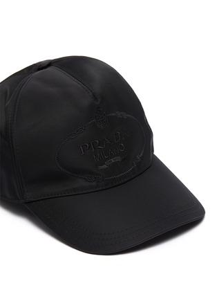Detail View - Click To Enlarge - PRADA - Logo Embroidery Re-Nylon Baseball Cap
