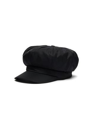 Main View - Click To Enlarge - PRADA - Triangular Logo Plaque Re-nylon Hat