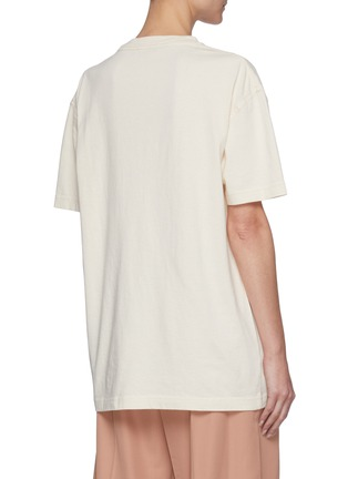 Back View - Click To Enlarge - ACNE STUDIOS - Elice Cross T-Shirt