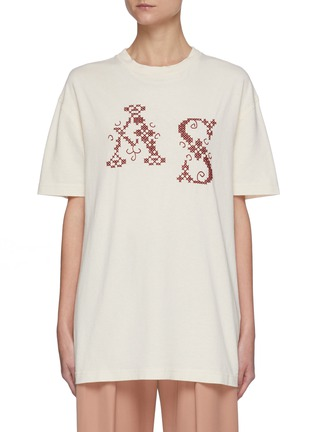 Main View - Click To Enlarge - ACNE STUDIOS - Elice Cross T-Shirt