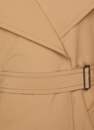 - ACNE STUDIOS - Opa' Belted Coat With Detachable Collar