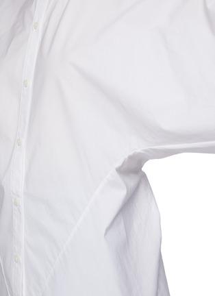 - ACNE STUDIOS - Cinched back poplin shirt