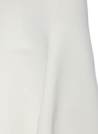 - ACLER - 'Hurley' Flare Drape Hem Midi Skirt