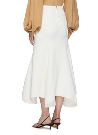 Back View - Click To Enlarge - ACLER - 'Hurley' Flare Drape Hem Midi Skirt