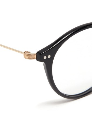 Detail View - Click To Enlarge - OLIVER PEOPLES ACCESSORIES - OV Round Acetate Sea Mist
