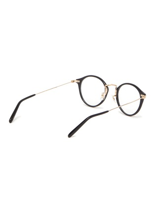 Figure View - Click To Enlarge - OLIVER PEOPLES ACCESSORIES - OV Round Acetate Sea Mist