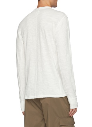 Back View - Click To Enlarge - RAG & BONE - Classic Cotton Henley