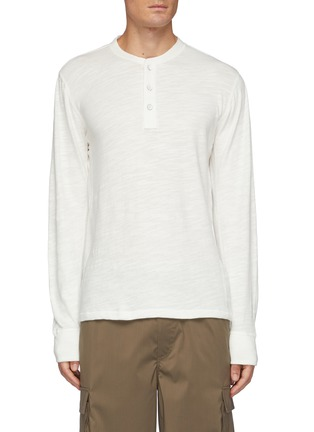 Main View - Click To Enlarge - RAG & BONE - Classic Cotton Henley