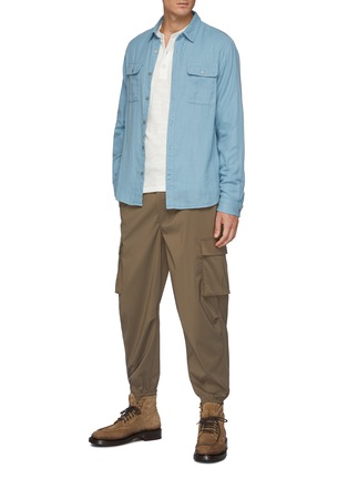 Figure View - Click To Enlarge - RAG & BONE - Classic Cotton Henley