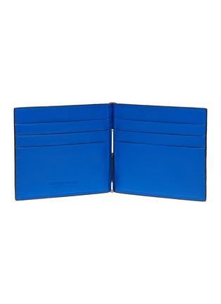 Figure View - Click To Enlarge - BOTTEGA VENETA - Money Clip Duo-tone Intrecciato Leather Wallet