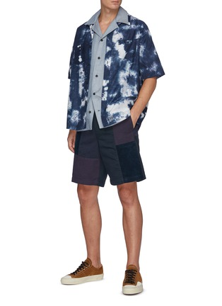 Figure View - Click To Enlarge - FDMTL - Patchwork Shorts