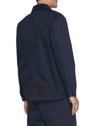 Back View - Click To Enlarge - FDMTL - Patchwork Jacket