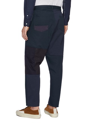 Back View - Click To Enlarge - FDMTL - Patchwork Straight Leg Pants