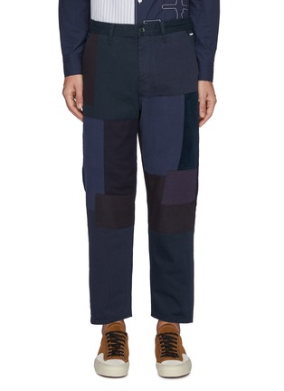 Main View - Click To Enlarge - FDMTL - Patchwork Straight Leg Pants