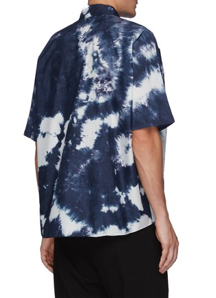 Back View - Click To Enlarge - FDMTL - Tie Dye Short Sleeve Oversized Cotton Shirt