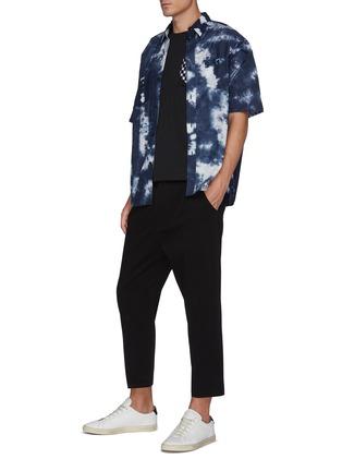 Figure View - Click To Enlarge - FDMTL - Tie Dye Short Sleeve Oversized Cotton Shirt