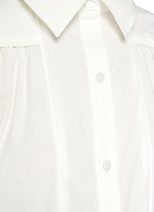- C/MEO COLLECTIVE - Feel So Lucky' Bell Sleeves Shirt
