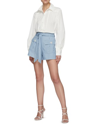 Figure View - Click To Enlarge - C/MEO COLLECTIVE - Feel So Lucky' Bell Sleeves Shirt