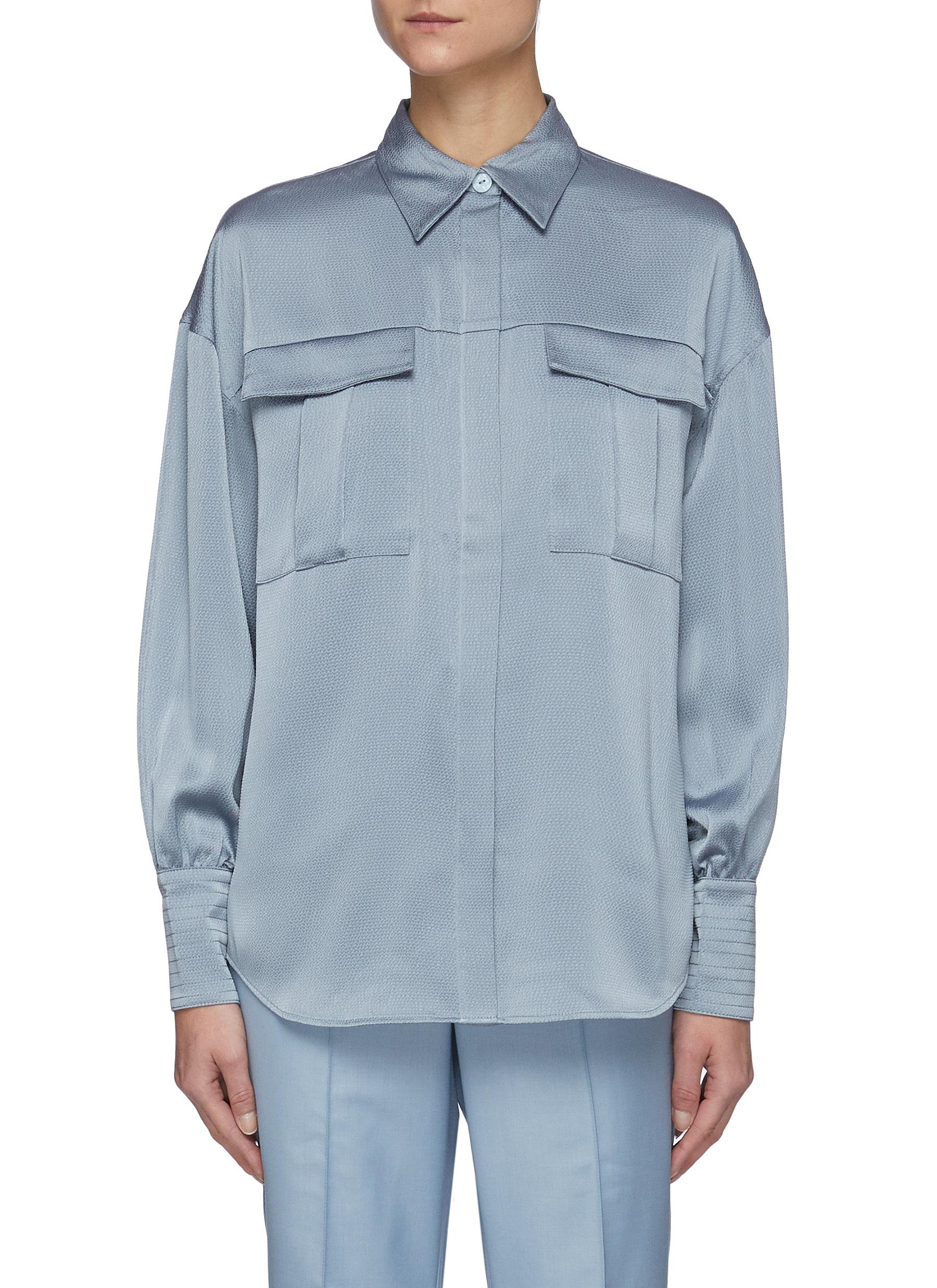 Right There' Bell Sleeves Shirt