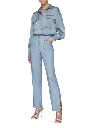 Figure View - Click To Enlarge - C/MEO COLLECTIVE - Right There' Bell Sleeves Shirt
