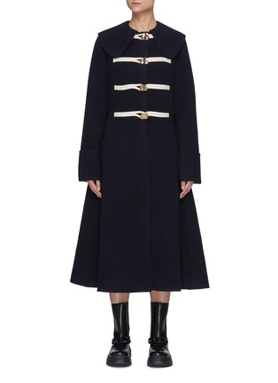Main View - Click To Enlarge - JW ANDERSON - Puritan Collar Wool Duffle Coat