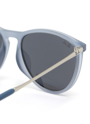 Detail View - Click To Enlarge - RAY-BAN - 'Izzy' Sanded Acetate Frame Junior Sunglasses