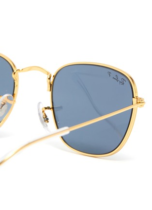Detail View - Click To Enlarge - RAY-BAN - Square Metal Frame Junior Sunglasses