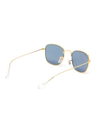 Figure View - Click To Enlarge - RAY-BAN - Square Metal Frame Junior Sunglasses