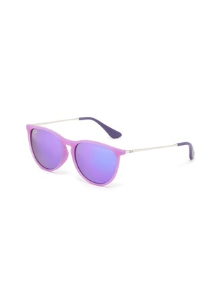 Main View - Click To Enlarge - RAY-BAN - 'Izzy' Sanded Acetate Frame Junior Sunglasses