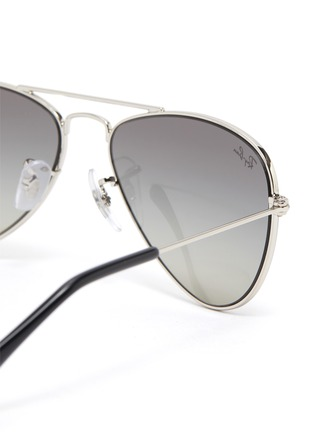 Detail View - Click To Enlarge - RAY-BAN - Metal Frame Junior Aviator Sunglasses