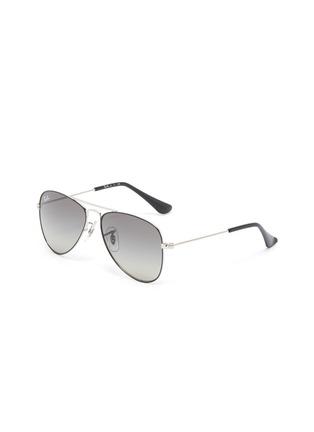 Main View - Click To Enlarge - RAY-BAN - Metal Frame Junior Aviator Sunglasses