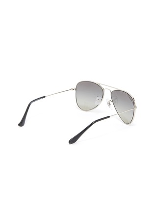 Figure View - Click To Enlarge - RAY-BAN - Metal Frame Junior Aviator Sunglasses