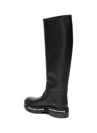 - ALEXANDERWANG - Sanford' logo midsole leather boots