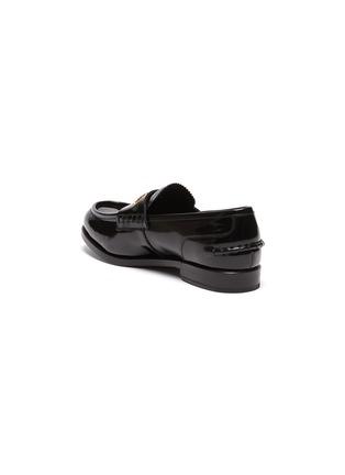 - ALEXANDERWANG -  ''Carter' logo embossed leather loafers