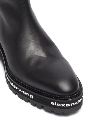 Detail View - Click To Enlarge - ALEXANDERWANG - Sanford' chunky leather chelsea boots