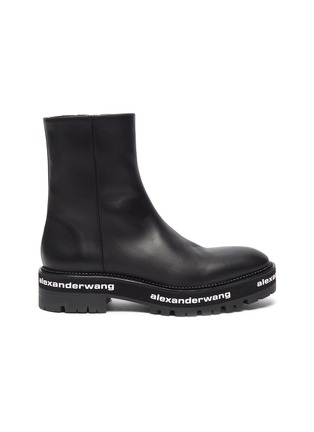 Main View - Click To Enlarge - ALEXANDERWANG - Sanford' chunky leather chelsea boots