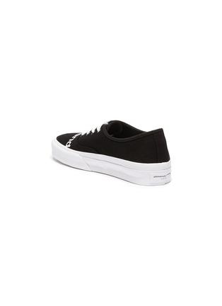 - ALEXANDERWANG -  ''Dropout' logo print canvas sneakers