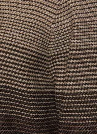 - THEORY - Burton' Gradient Coloured Cashmere And Wool Blend Knit Sweater