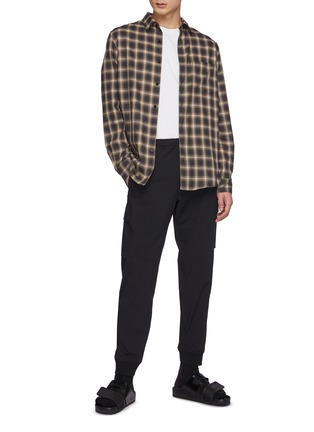 Figure View - Click To Enlarge - THEORY - Noll.Flanella Check Shirt