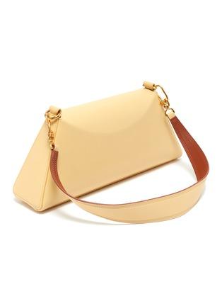 Detail View - Click To Enlarge - NANUSHKA - 'Noya Baguette' Vegan Leather Shoulder Bag