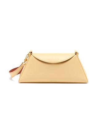 Main View - Click To Enlarge - NANUSHKA - 'Noya Baguette' Vegan Leather Shoulder Bag