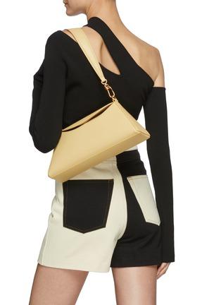 Figure View - Click To Enlarge - NANUSHKA - 'Noya Baguette' Vegan Leather Shoulder Bag