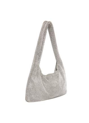 Detail View - Click To Enlarge - KARA - Crystal mesh shoulder bag