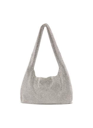Main View - Click To Enlarge - KARA - Crystal mesh shoulder bag