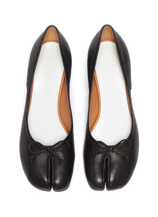 Detail View - Click To Enlarge - MAISON MARGIELA - Soft Leather 'Tabi' Pumps